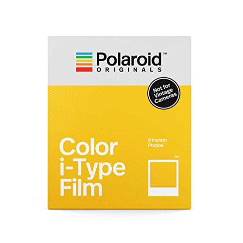 Polaroid Originals Instant Film Color Film for I-TYPE, White (4668) (Classic Polaroid Camera Film)
