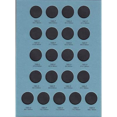 Whitman U.S. Jefferson Nickel Coin Folder 1962-1995 Volume 2 #9039: Toys & Games