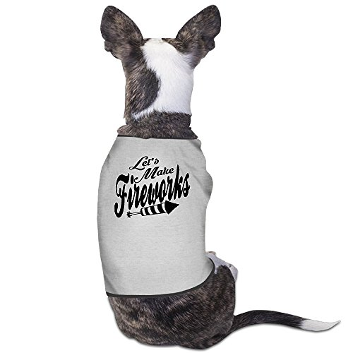 Theming Let's Make Fireworks 4th-of-July Dog Vest -