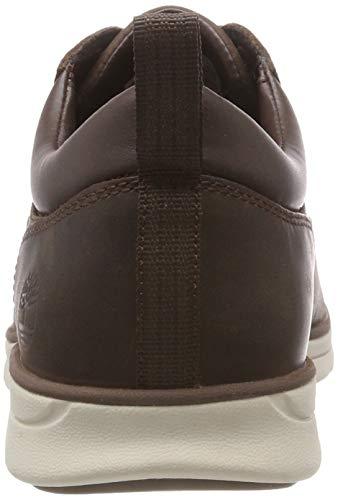 Soil Bradstreet Saddleback de Oxford Potting 931 Timberland Zapatos Hombre Cordones para Marrón UqzqBfg