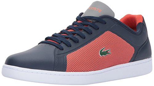 Lacoste Men's Endliner 317 2 Sneaker, Red, 9 M US
