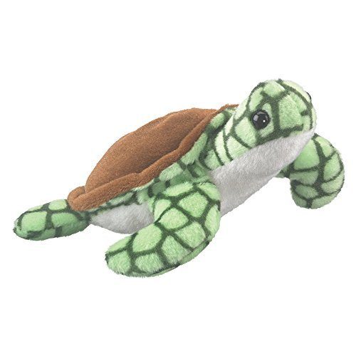 - Play Critters Wildlife Artists Sea Turtle Plush Finger Puppet Toy, 7
