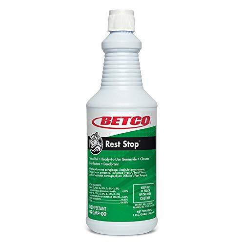 Betco レストストップ 無酸性 トイレ 殺菌 12クォート ケース B07H4X72JW