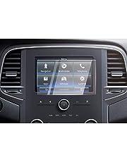 CDEFG voor Renault Megane 4 RS auto GPS glas beschermfolie 9H krasbestendig anti-vingerafdruk navigatie transparant displaybeschermfolie (8,7 inch)