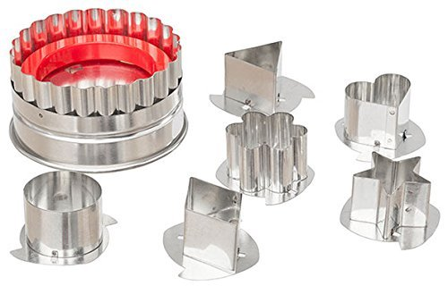 Ateco 4841 Large Linzer Cutter Linzer Cutter Set