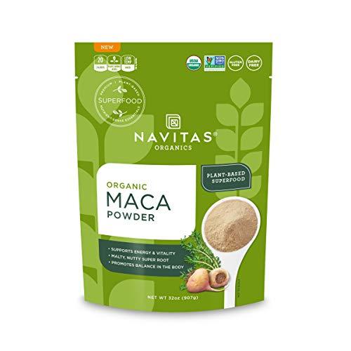 Navitas Organics Maca Powder, 32oz. Bag – Organic, Non-Gmo, Low Temp-Dried, Gluten-Free