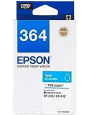 Epson T364 DuraBrite Ultra Ink, Cyan