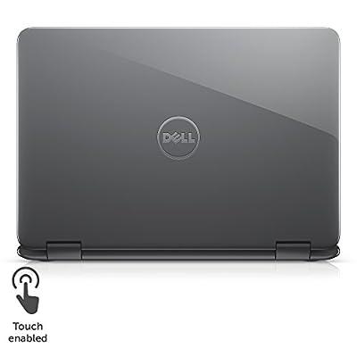 """Dell Inspiron i3179-0000BLU 11.6"""" HD 2-IN-1 Laptop (7th Generation Intel Core m3-7Y30, 4GB RAM, 500GB HDD) Bali Blue"""