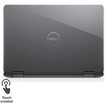 "Dell Inspiron i3179-0000GRY 11.6"" HD 2-IN-1 Laptop (7th Generation Intel Core m3-7Y30, 4GB RAM, 500GB HDD) GRY"