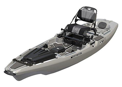 Bonafide Kayaks SS127 Ultimate Sit on Top Fishing Kayak - Top Gun Grey (Ultimate 12 Kayak)