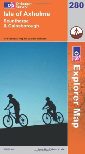 Read Online Isle of Axholme, Scunthorpe and Gainsborough (Explorer Maps) (OS Explorer Map) by Ordnance Survey (2006-02-13) pdf
