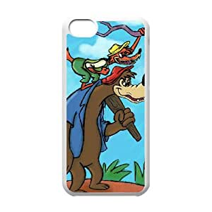 iPhone 5c Cell Phone Case White Song of the South Character Br'er Bear ibxw