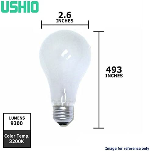 Ushio BC7606 1000024 BAH INC115V-300W Projector Light Bulb by Ushio