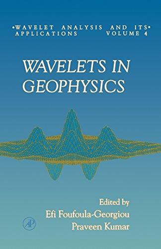 Wavelets in Geophysics: Session Entitled