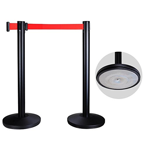 Yescom Retractable Control Stanchion Barrier