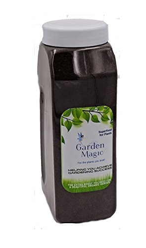 All Natural Plant Food - Garden Magic - Organic Nitrogen Fertilizer - All Purpose Indoor Outdoor Use On Vegetables, Flowers, All Other Plants