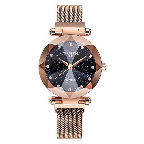 Men's Stainless Steel Chronograph Dress Quartz Watch Waterproof Watch Men Digital Classic Watches for Men Fossil