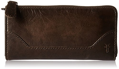 FRYE Melissa L Zip Wallet (Boutique Designer Wallet)