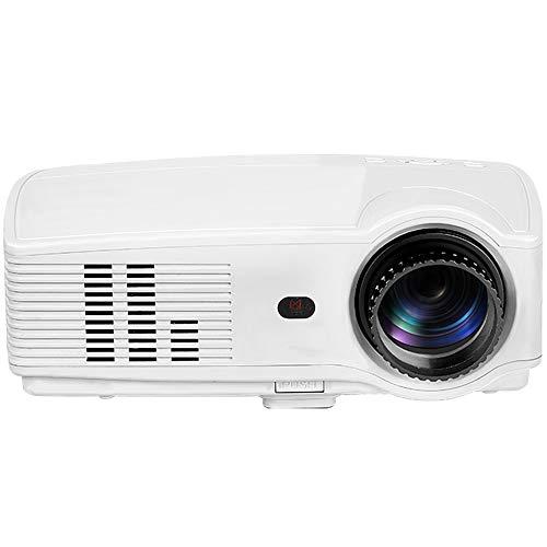 WAYPGC Projector, 2800 Lumens Projector, AV VGA HDMI USB, HD 1080P, 20,000 Hours of Light Life, Keystone Correction, for Home Theater,White1280800P from WAYPGC