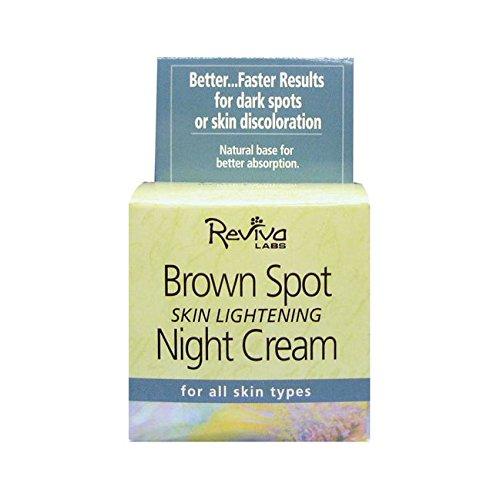 Reviva Labs - Brown Spot Skin Lightening Night Cream - 1.5 - Spot Website
