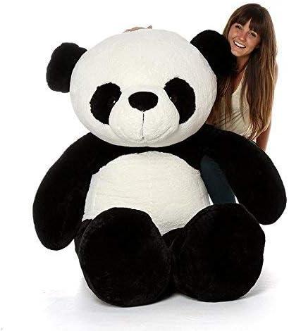 GURUDEV Loveable HUGABLE Soft Long Huge White Teddy Bear(Best for Someone Special) (6 feet, Panda)