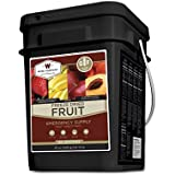 Wise Foods 152 Servings Gluten Free Freeze Dried Fruit, Black