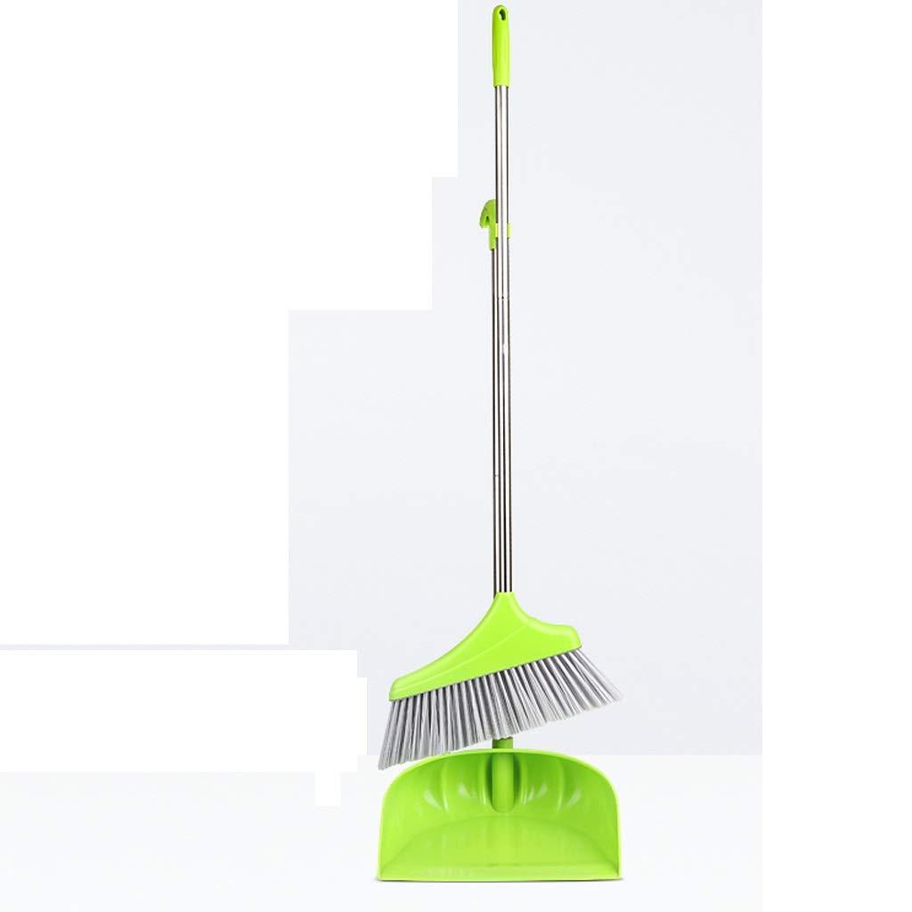 Lsxlsd Broom Broom Push Broom Long Handle Rubber Brush Broom Cleaning Mop Brush Handle Broom Set by Lsxlsd