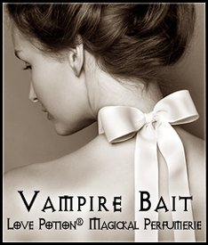 Love Potion®: Vampire Bait ~ 1/3 Fl. Oz. Concentrated Perfume -