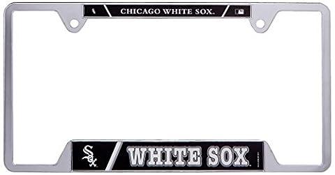 MLB Chicago White Sox Metal License Plate Frame - Sox Metal