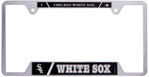 Free MLB Metal License Plate Frame