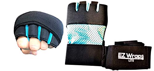 Premium Women's Quick Gel Padded Boxing Hand Wrap,Martial Arts Hand Wraps for Wrist Support, Hand, Knuckle Gel Protection for Quick Hand Wrap That You Can Cross Train Holding Weights and Punch.