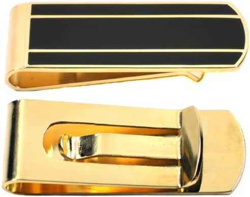 Money Clip - Gold or Silver, Men's Slim Card Holder, Cash And Credit Card Wallet