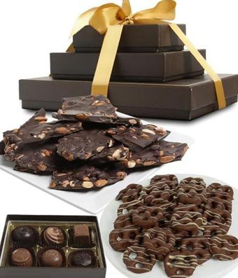 Gifts - Sweet and Salty Dark Belgian Chocolate