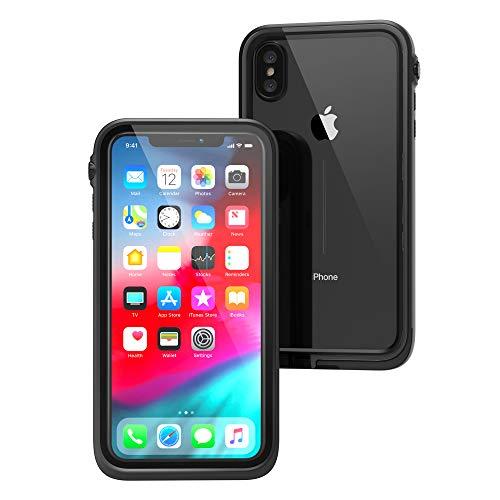 クラウド間欠作業カタリスト iPhone Xs Max 完全防水ケース ブラック CT-WPIP18L-BK