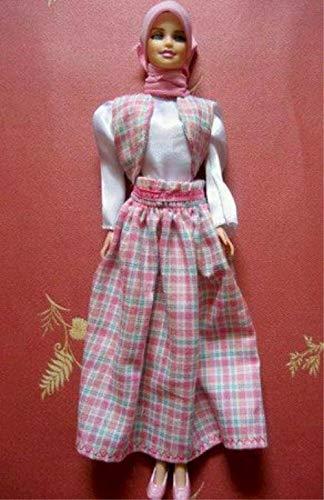 Handmade Muslim Doll Clothes Islamic Doll Clothes Hijabi Doll Clothes Girls Eid Gift