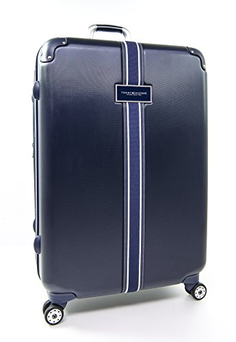 Tommy Hilfiger Classic 28'' Expandable Hardside Spinner, Navy by Tommy Hilfiger