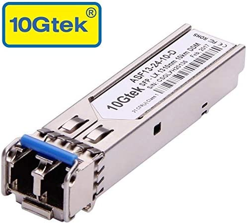 1310nm 10km SMF for Ubiquiti US-48-500W Compatible SFP+ 10GBASE-LR