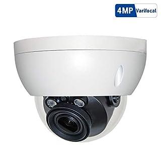 4MP Outdoor POE Dome IP Camera, IPC-HDBW4433R-ZS 2.7-13.5mm Motorized Varifocal Lens 5X Optical Zoom, 50m IR Night Vision, Smart H.265, WDR, 3D DNR, IP67, IK10¡