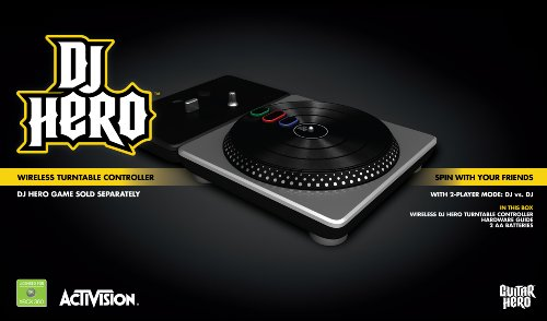 DJ Hero Stand-Alone Turntable - Xbox 360