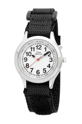 timeoptics-boys-talking-silver-tone-alarm-fast-wrap-strap-watch