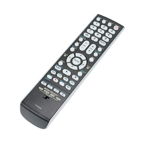AIDITIYMI New CT-90302 Replace Remote Control Compatible with Toshiba 26AV52R 40RV52 42RV535 46XV645 52XV648 40G300U 52RV535 LCD TV 26AV52 32AV52R Regza 32RV525R 37AV52R 40RV525R 46G300 46RV525R HDTV