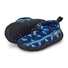 Sterntaler Aqua-Schuh, Mocasines para Bebés, Azul (Marine 300), 19/20 EU