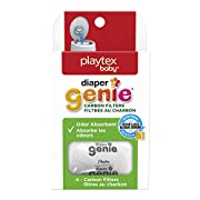 Playtex Carbon Filter Refill Tray for Diaper Genie Diaper Pails, White