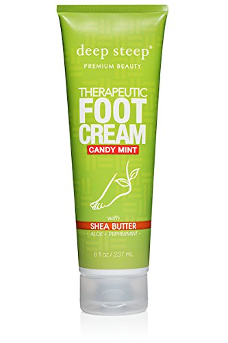 (Deep Steep Deep steep therapeutic foot cream, candy mint (8 ounce))