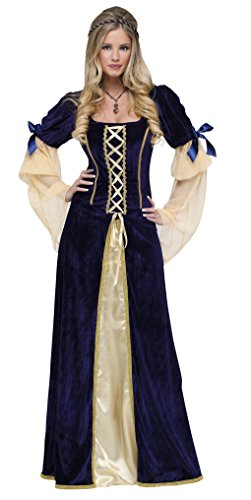 Maiden Faire Adult Costumes (Adult Deluxe Maiden Faire Renaissance Costume - Diamond Collection Size: Large 12-14)