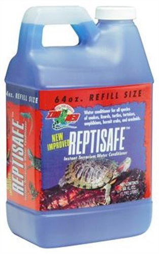 - Zoo Med ReptiSafe Water Conditioner, 64 oz