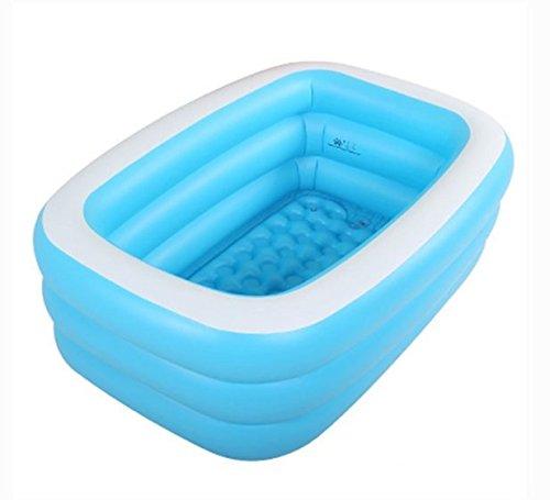Inflable bañera hinchable piscina natación adulto bebé ...