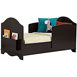 South Shore Savannah Toddler Bed with Side Panels, Espresso