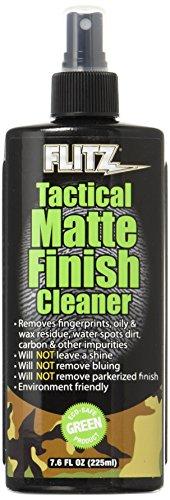 - Flitz TM 81585 Tactical Matte Finish Cleaner, 7.6 oz.