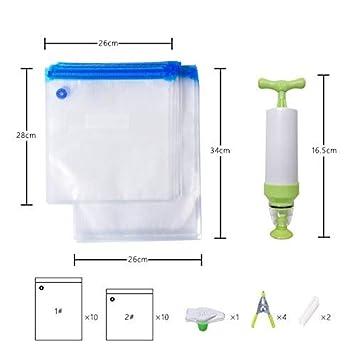 Sous Vide Kit de bolsas para Anova cocinas 20 FDA BPA libre ...